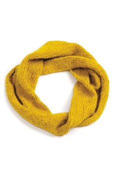 Snood MISS SUNSHINE made with WOOLADDICTS AIR