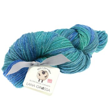 SLOW WOOL CANAPA HAND DYED