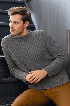 HERRENPULLOVER · COOL WOOL