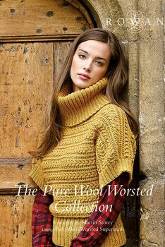 Rowan Booklet - The Pure Wool Worsted Collection