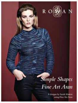 Knit Rowan - Simple Shapes Fine Art Aran